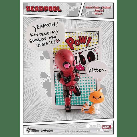 Figura Mini Egg Attack Deadpool Jump Out 4th Wall