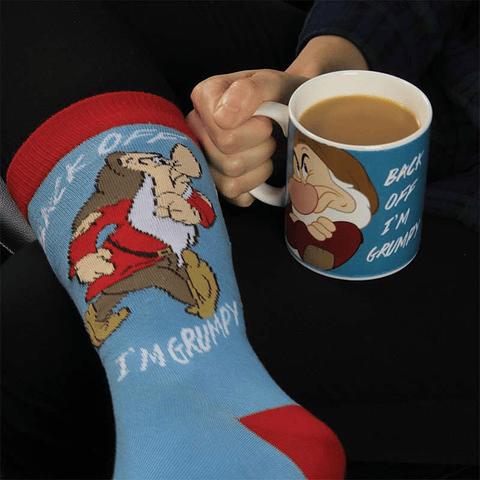 Gift Box Disney: Grumpy Mug and Socks Set