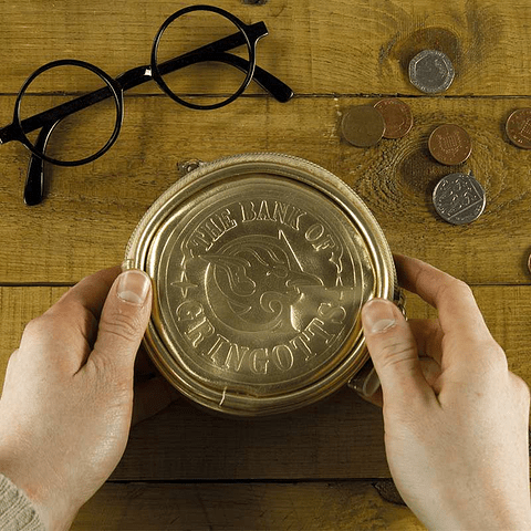 Porta-moedas Harry Potter Gringotts