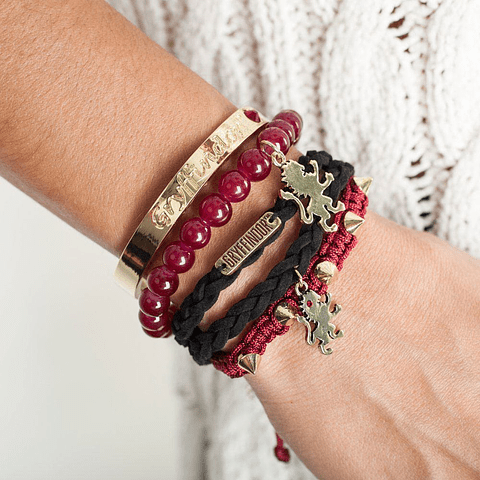 Pulseira Harry Potter Gryffindor Arm Party