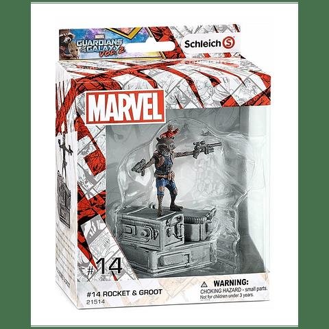 Figuras Marvel Rocket & Groot