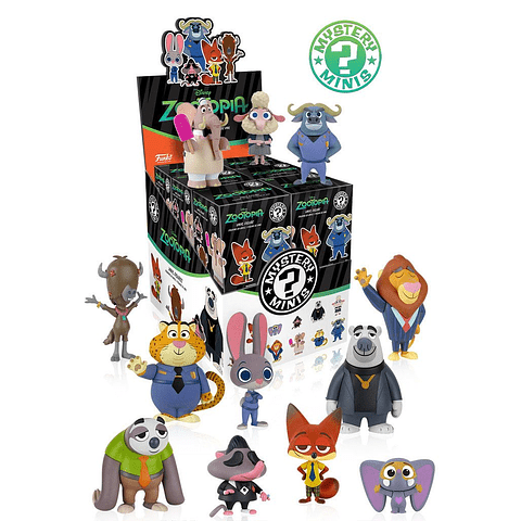 Mystery Mini Blind Box: Zootopia