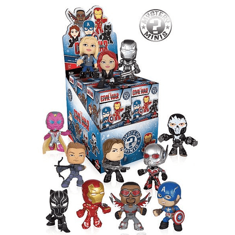 Mistery Mini Blind Box: Captain America Civil War