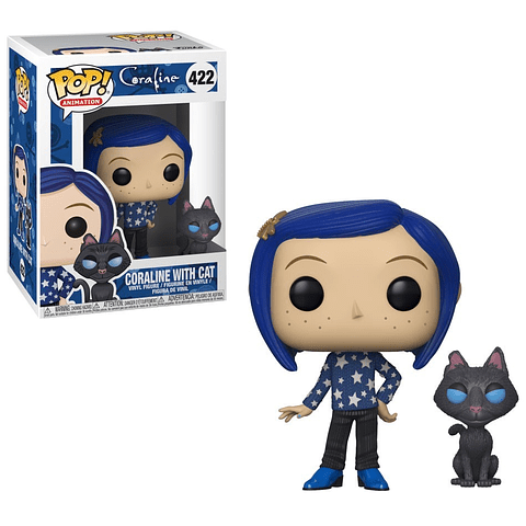 POP! Animation: Coraline - Coraline with Cat