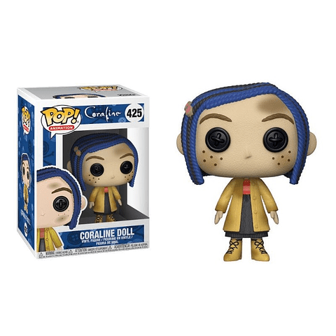 POP! Animation: Coraline - Coraline as a Doll