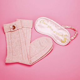 Gift Box Disney: Sleeping Beauty Eye Mask and Bed Socks Set