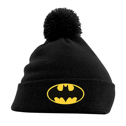 Gorro Batman Logo Black