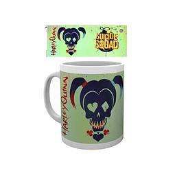 Caneca Suicide Squad Harley Quinn Skull