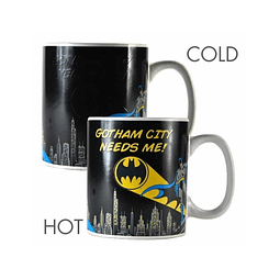 Caneca Mágica Batman Gotham City Needs Me