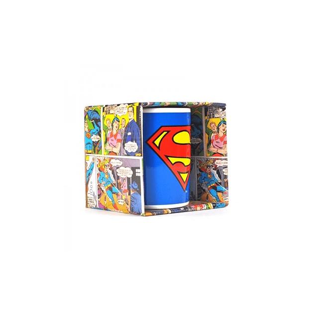 Caneca Superman Classic Logo