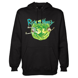 Hoodie Rick and Morty Black Portal