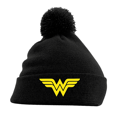 Gorro Wonder Woman Logo Black