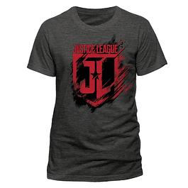 T-shirt Justice League Movie Shield