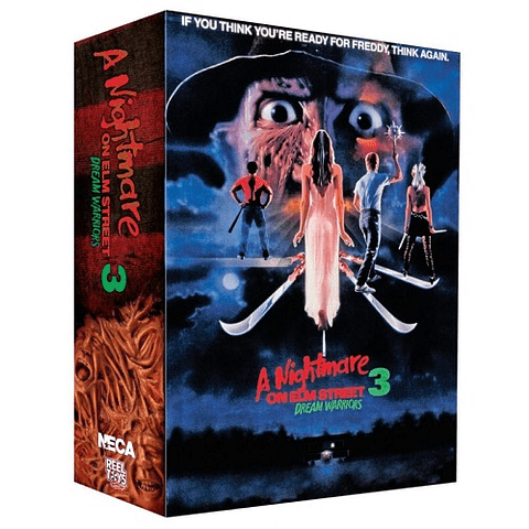Action Figure A Nightmare On Elm Street 3 - Ultimate Freddy Dream Warriors