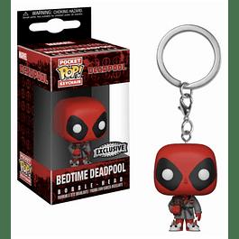 Porta-chaves Pocket POP! Deadpool: Bedtime Deadpool Exclusive