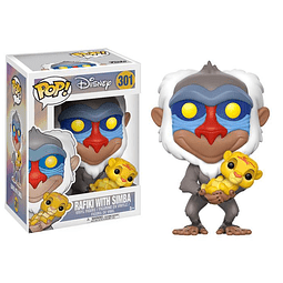 POP! Disney: The Lion King - Rafiki with Simba