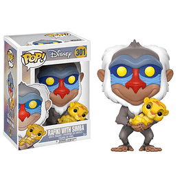 POP! Disney: The Lion King - Rafiki with Simba