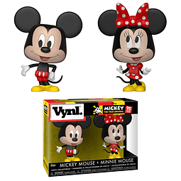 VYNL: Disney - Mickey Mouse & Minnie Mouse