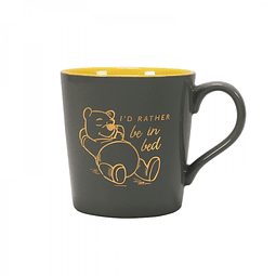 Caneca Winnie the Pooh I'd rather be in bed