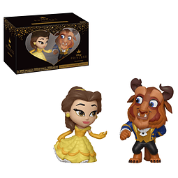 Mini Vinyl Figures Disney Princess Romance Series - Belle & Beast
