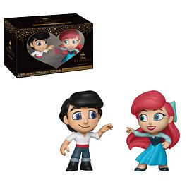 Mini Vinyl Figures Disney Princess Romance Series - Eric & Ariel
