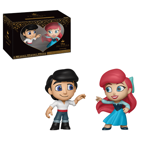 Mini Vinyl Figures Disney Princess Romance Series - Eric & Ariel