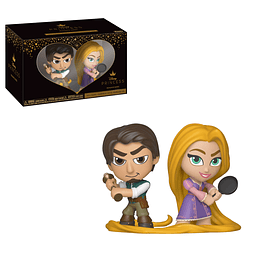 Mini Vinyl Figures Disney Princess Romance Series - Flynn & Rapunzel