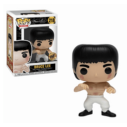 POP! Movies: Bruce Lee - White Pants Bruce Lee Edição Limitada