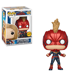 POP! Captain Marvel: Captain Marvel Chase Edition
