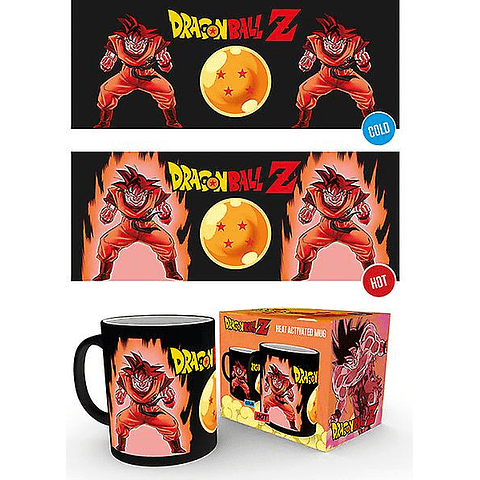 Caneca Mágica Dragon Ball Z Super Saiyan