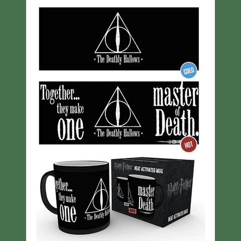 Caneca Mágica Harry Potter Deathly Hallows