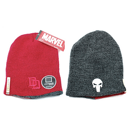 Gorro Reversível Daredevil / The Punisher