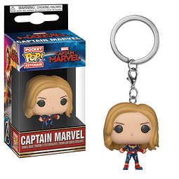 Porta-chaves Pocket POP! Captain Marvel: Captain Marvel