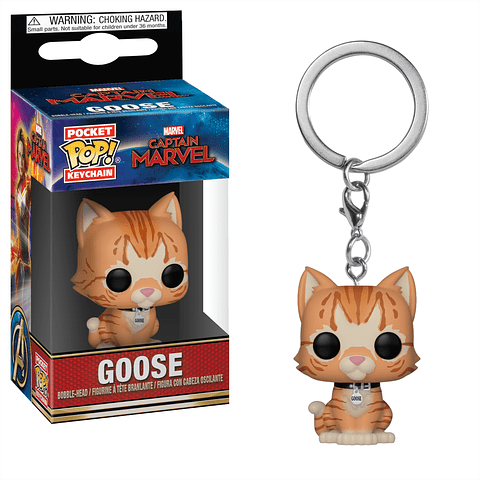 Porta-chaves Pocket POP! Captain Marvel: Goose