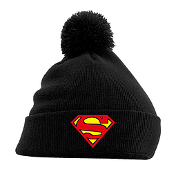 Gorro Superman Logo Black