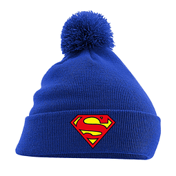 Gorro Superman Logo Blue