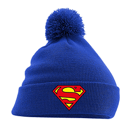 Gorro Superman Logo Blue