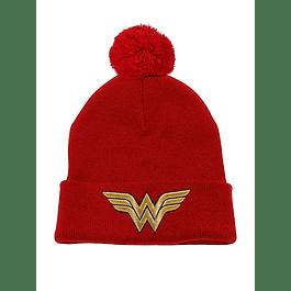 Gorro Wonder Woman Gold Logo