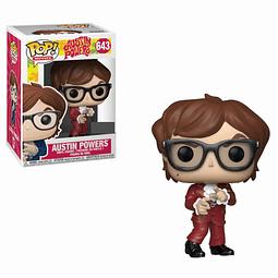 POP! Movies: Austin Powers - Red Suit Austin Edição Limitada