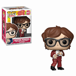 POP! Movies: Austin Powers - Red Suit Austin Edição Limitada