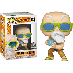POP! Animation: Dragon Ball Super - Specialty Series Master Roshi Max Power