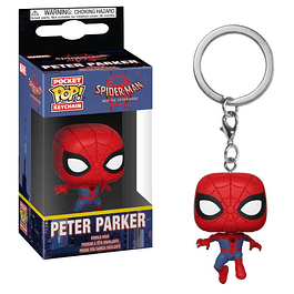 Porta-chaves Pocket POP! Spider-Man Into the Spiderverse: Peter Parker