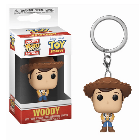 Porta-chaves Pocket POP! Toy Story: Woody