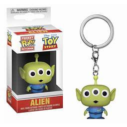 Porta-chaves Pocket POP! Toy Story: Alien