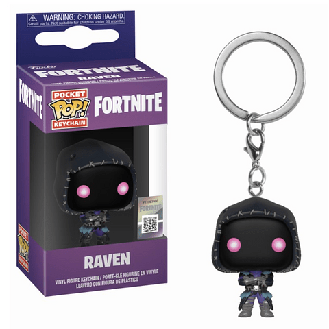 Porta-chaves Pocket POP! Fortnite: Raven