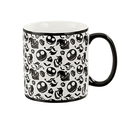 Caneca XL The Nightmare Before Christmas Oogie, Jack and Zero