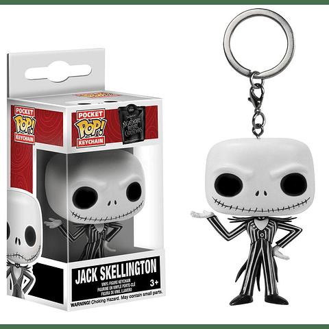 Porta-chaves Pocket POP! The Nightmare Before Christmas: Jack Skellington