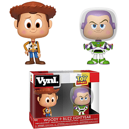 VYNL: Toy Story - Woody & Buzz Lightyear