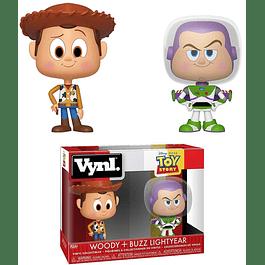 VYNL: Toy Story - Woody & Buzz Lightyear