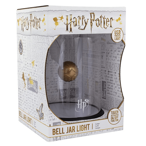 Luz de Presença Harry Potter Golden Snitch